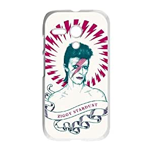 David Bowie Motorola G Cell Phone Case White TPU Phone Case SV_197243