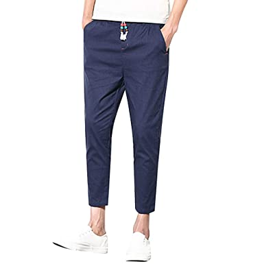 Geilisungren Slim-fit Jogger Pant - Casual-Pants Hombre ...