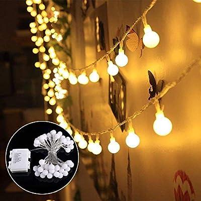 Lichterkette Außen Batterie 40 Led Lichterkette Glühbirnen Greempire