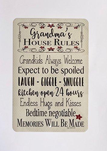 Divertido Cartel de Regalo para la casa de la Abuela con ...