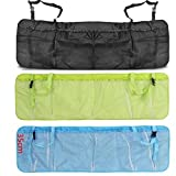 Efbock Car Trunk Organizer Seat Cover Toys DVD Storage Container Bags Automobiles pouch Auto Styling Accessories 1pcs