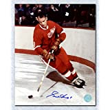 Gordie Howe Detroit Red Wings Autographed Original Six Legend 8x10 Photo