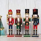 KI Store Christmas Nutcracker Set of 4 12-Inch