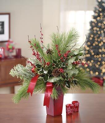 Christmas Floki - eshopclub Same Day Christmas Flower Delivery - Online Christmas Flowers - Christmas Flowers Bouquets & Plants - Send Christmas Centerpiece by eshopclub