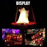 TongBF Artificial Fire Lamp, Outdoor Landscape
