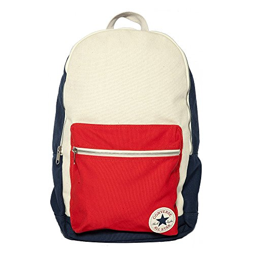 Price comparison product image CONVERSE Core Plus Canvas Backpack - Navy/Red/Cream