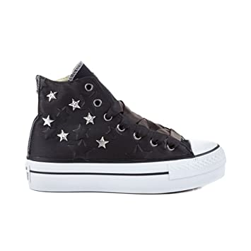 Converse Ctas Hi Platform Canvas Ltd Donna Scarpe Sportive  Amazon.it   Sport e tempo libero ec9e596f5