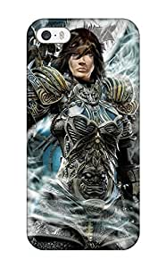 Flexible Tpu Back Case Cover For Iphone 5/5s - The Ultimate Warrior