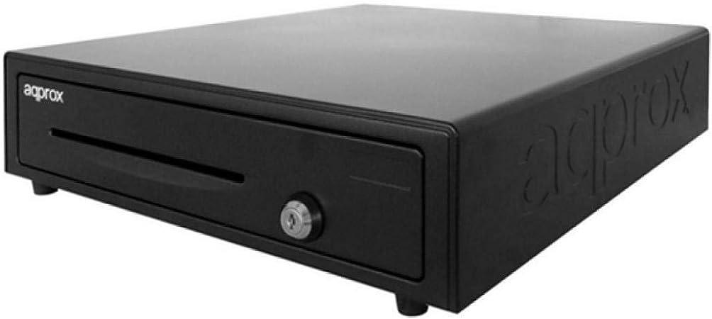 Approx APPCASH01 - Bandeja para dinero en efectivo (13 compartimentos), color negro: Approx: Amazon.es: Electrónica