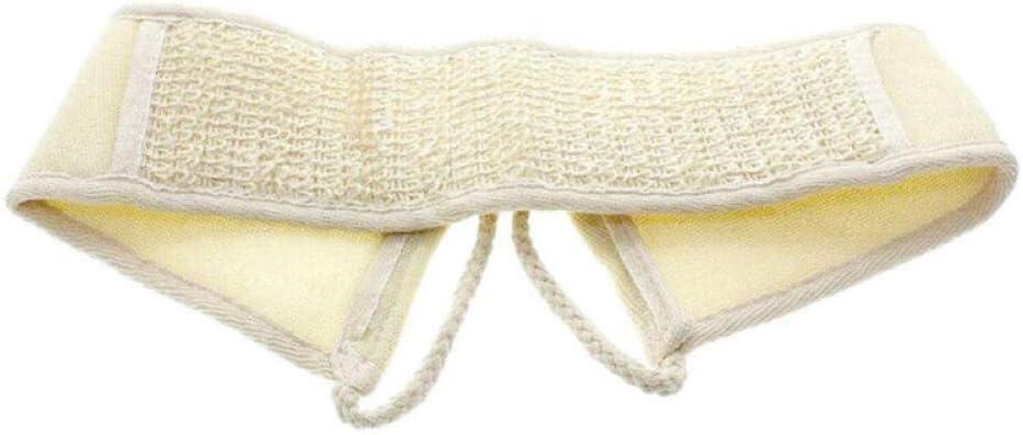 Hiikk Nuevo Natural Suave Exfoliante Esponja de Espalda Correa de Esponja Toalla de ba/ño Ducha Masaje SPA depurador Esponja Cuerpo Piel Salud Limpieza
