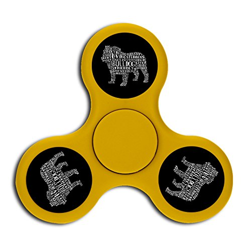 Price comparison product image Words Bulldog High Speed Fingertip Gyro Fidget Spinning Toys For Kids Adults ADHD