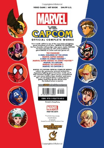 Image of Marvel VS Capcom: Official Complete Works