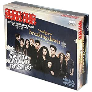 """Twilight Breaking Dawn Part 2 """"Connect with Pieces"""" Wizkids Puzzle Game"""