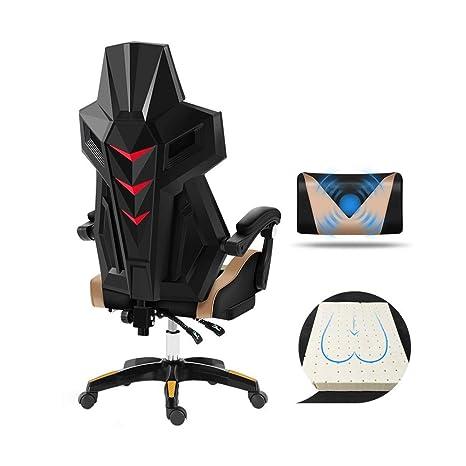 Amazon.com: Bseack Silla giratoria de videojuegos, silla ...