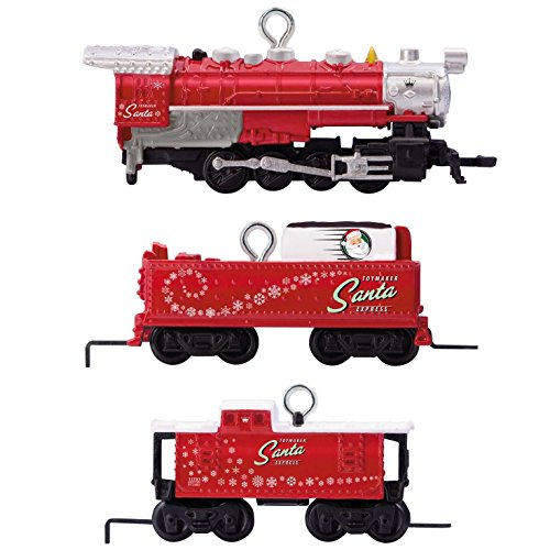 Express Ornament (Hallmark Keepsake 2017 LIONEL Toymaker Santa Express Mini Train Christmas Ornaments, Set of 3)