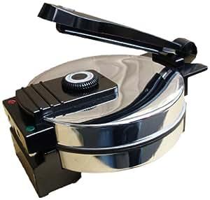 Saachi-New Sa1650 - Tortilla Maker / Roti / Wraps / Pita & Flat Bread Maker - Nonstick With Temperature Control