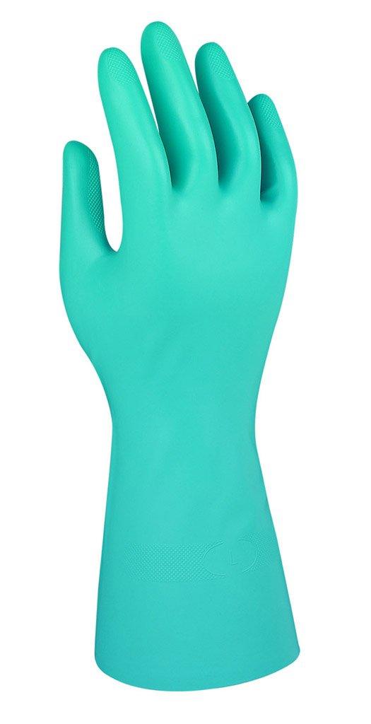 Nitrile Talla 8.5 G26G Comasec /& -Marigold Industrial A136085-01 Guantes Verde Pack de 12 Protecci/ón Qu/ímica y L/íquida