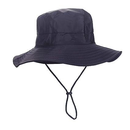 abdb2b3301ba18 MOMOCOY Outdoor Sun Hat, Waterproof Fishing Hat Sun Protection Summer  Boonie for Man and Women