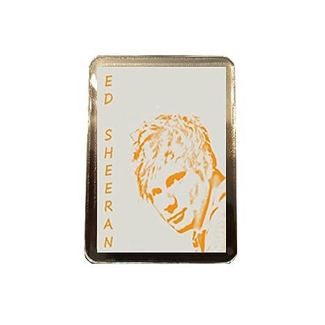 Ed Sheeran - imán de nevera (dibujo estilo): Amazon.es: Deportes y ...