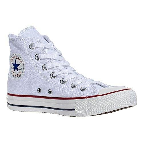 Converse Chuck Taylor All Star Hi Top Optical White Canvas M7650 10.5 Men US/12.5 Women US Chuck Taylor White Top