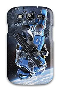 Galaxy S3 Hard Back With Bumper Silicone Gel Tpu Case Cover Log Horizon