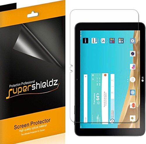 (3 Pack) Supershieldz for LG G Pad X 10.1 Screen Protector, High Definition Clear Shield (PET)