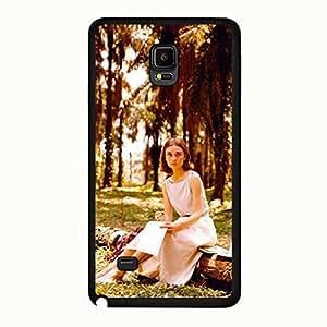 Samsung Galaxy Note 4 Protective Case Delicate Special Audrey Hepburn Mobile Case snap on Samsung Galaxy Note 4