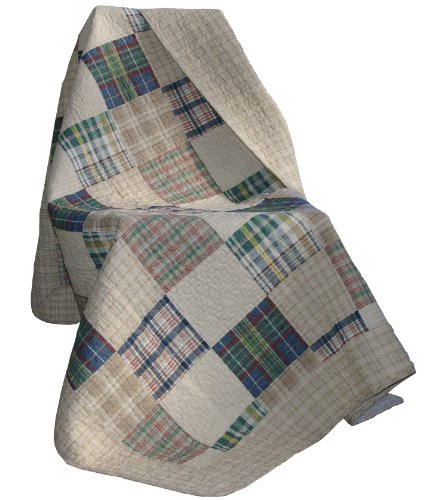 greenland quilted throw - 1