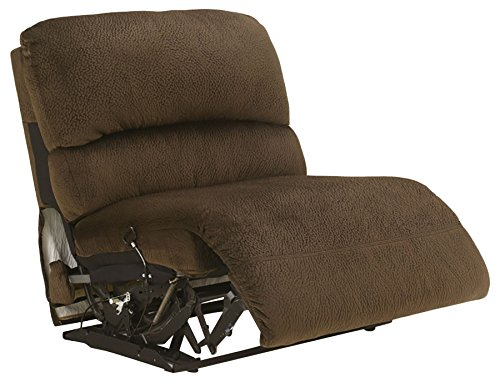 Signature Design by Ashley 5670119 Toletta Collection Armless Recliner, - Gentle Ashleigh