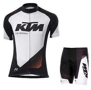DAN Conjunto Ropa Equipacion Traje Ciclismo Hombre para ...