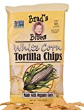 Brad's Organic White Tortilla All Natural, 8 Ounce (Pack of 12)