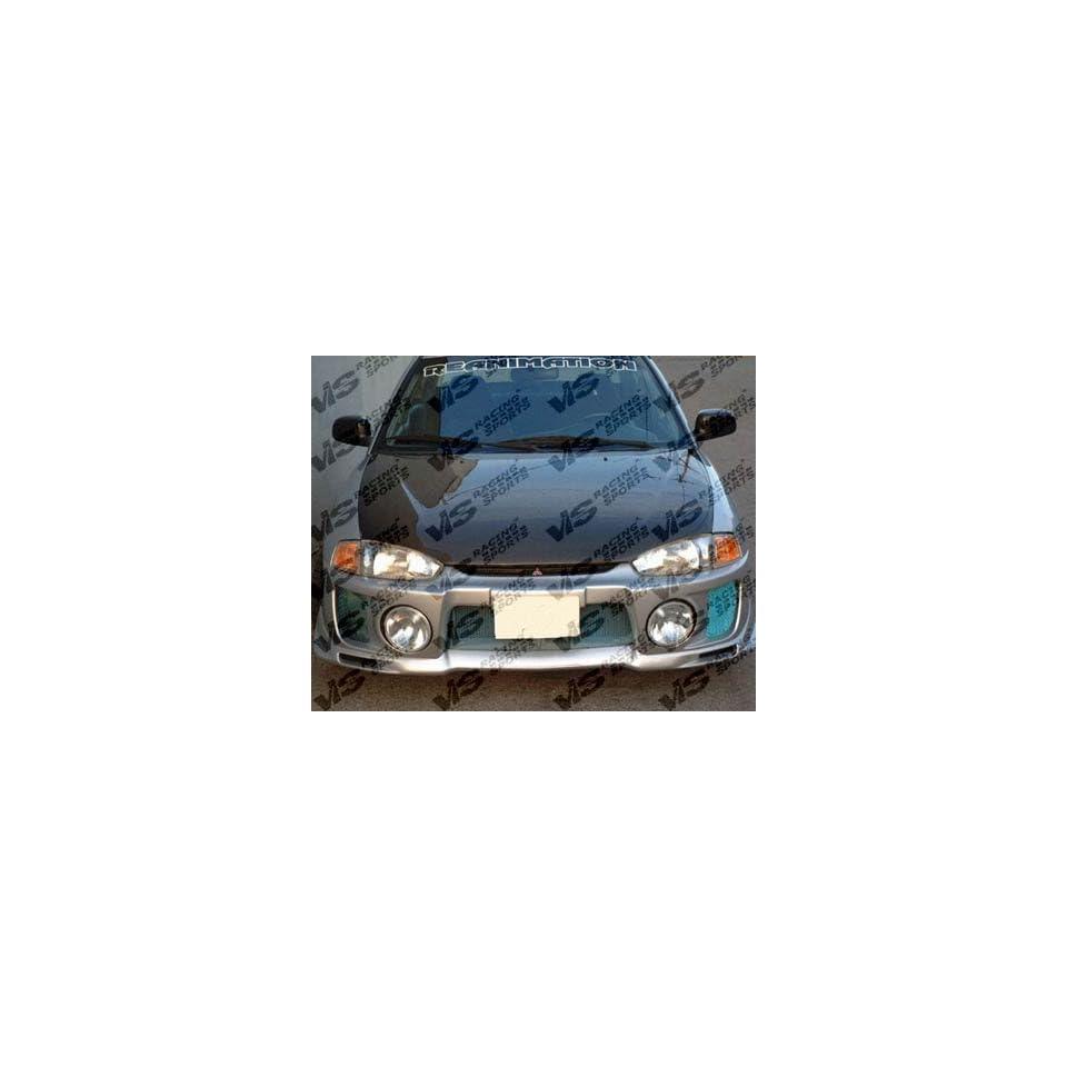 Racing OEM Style Carbon Fiber Hood 1997 2002 Mitsubishi Mirage   Hoods