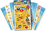 Emoji Universe: Emoji Loot Bags, Pack of 50; Trick or Treat Bags for Kids