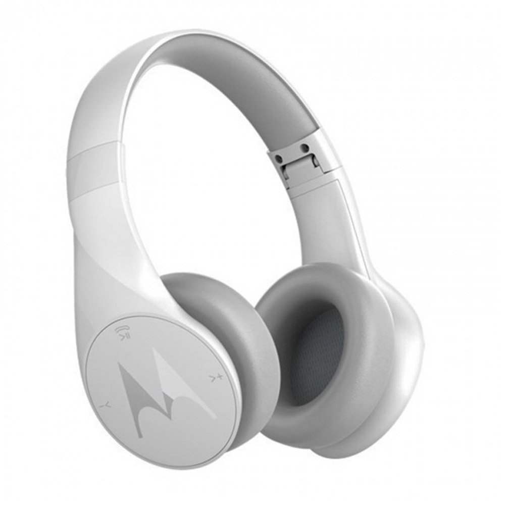 Auriculares Motorola Pulse Escape Inalambrico Over-Ear - Alexa Enabled - Blanco (SH012WH)