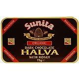 (12 PACK) - Sunita - Org Dark Chocolate Halva   75g   12 PACK BUNDLE