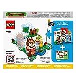 LEGO-Super-Mario-Mario-Tanuki-Power-Up-Pack-Espansione-Costume-per-Girare-e-Calpestare-i-Nemici-Giocattolo-71385