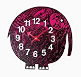 Stilnovo Telechron Zoo Timer Elephant Wall Clock, Purple