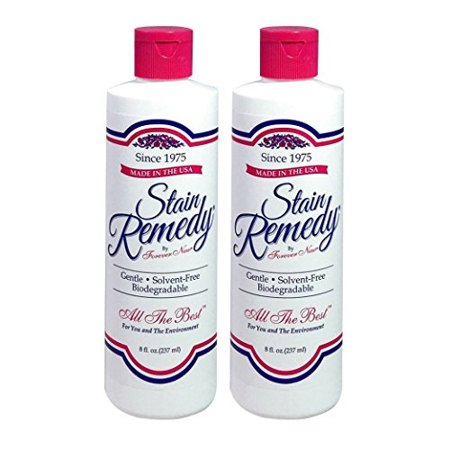 New Forever 8oz Stain Remedy Liquid (2 Pack 16oz Total)