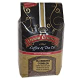 Door County Coffee, Spring & Summer Seasonal Flavored Coffee, 5lb Bags (Blueberry Cobbler, Wholebean)