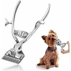 SanSiDo Professional Pet hair Trimmer Kit Animal Pet Cat Dog Hair Scissor Shaver Razor Grooming Clipper
