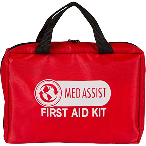 First Aid Kits New Release, Light, Small, Durable * MedAssist 100 Pcs - Pain Relief, Antihistamine,
