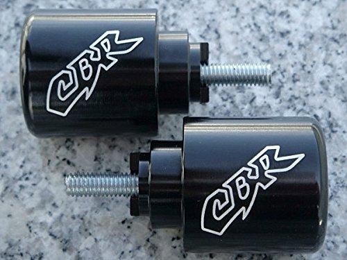 i5 Black Billet Bar Ends for Honda CBR600RR CBR929RR CBR954RR CBR1000RR CBR600 CBR929 CBR954 CBR1000 CBR 600 F2 F3 F4 F4i 900 929 954 1000 RR 600RR 929RR 954RR ()