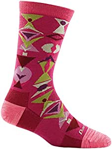 Darn Tough Merino Wool Cosmo Crew Light Sock - Women's Boysenberry Small