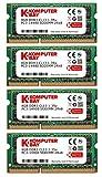 Komputerbay 32GB (4x8GB) Apple Memory Upgrade for Late 2015 iMac 27'' DDR3 1867Mhz PC3-14900 SODIMM 2Rx8 CL13 1.35v RAM