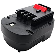 Black & Decker HPB12 Battery Replacement - For Black & Decker 12V HPB12 Power Tool Battery (1300mAh, NICD)