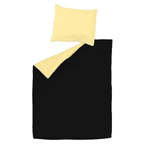 SoulBedroom Black & Yellow (Negro y Amarillo) Juego de Cama ...