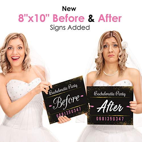 bachelorette party mugshot signs girls night out birthday