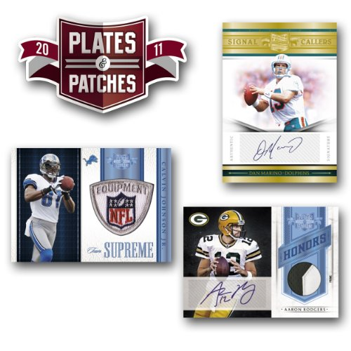 NFL 2011 Panini Plates and Patches (1 Pack)