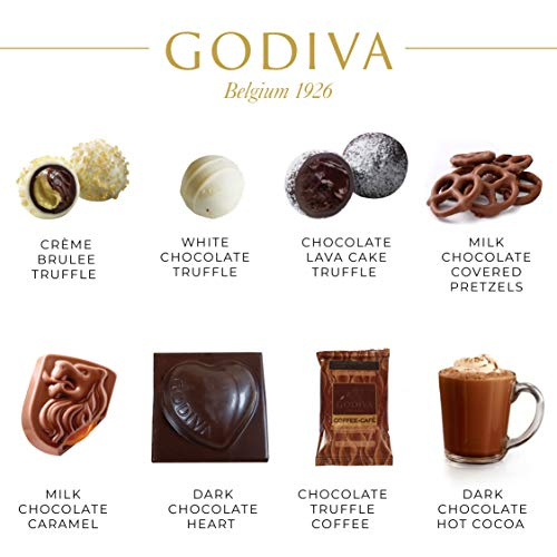 Godiva Chocolatier Gift Basket – New Assortment For 2016 Holiday Season – Special Select Chocolates With Improved…