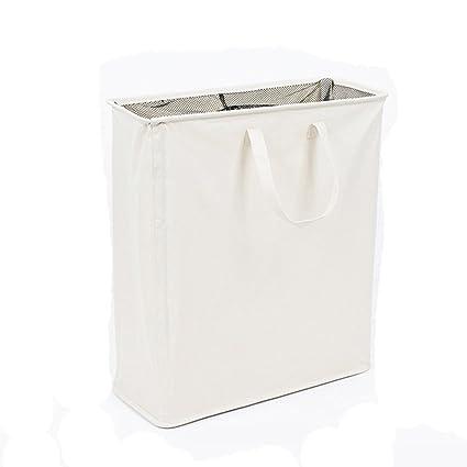 Grande plegable bolsas para ropa sucia con dos ...